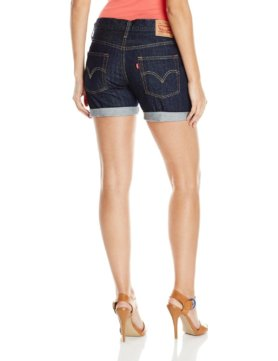 Levis Womens 501 Ct Short - Ink Blot2