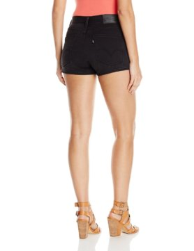 Levis Womens High Rise Short - Darkness2