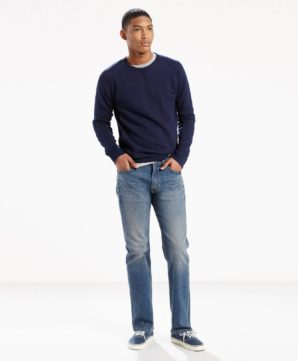 Джинсы Levis 505 Regular Fit - Double Shot