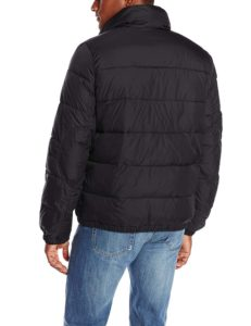 Levis Mens Nylon Classic Puffer Jacket - Black2