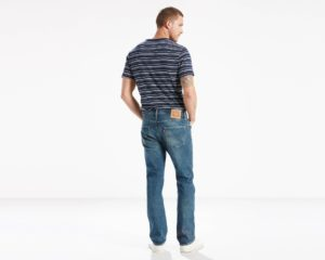 LEVIS 501 Original Fit Jeans - Green Point3