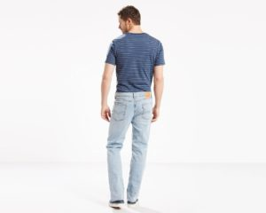 Levis 514 Straight Fit Stretch Jeans -Blue Stone3