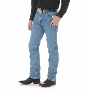 Wrangler Premium Performance Cowboy Cut Slim Fit Jean - Stonewashed2