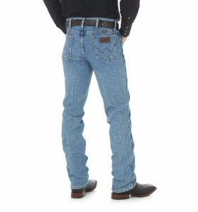 Wrangler Premium Performance Cowboy Cut Slim Fit Jean - Stonewashed3