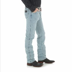 Wrangler Cowboy Cut Silver Edition Slim Fit Jean - Bleach Wash2