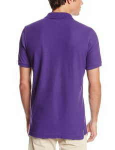 Lee Uniforms Modern Fit Short Sleeve Polo Shirt - Purple2