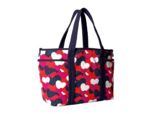 Tommy Hilfiger Dariana Heart Tote - Bright Rose-Multi2