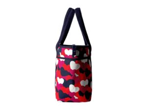 Tommy Hilfiger Dariana Heart Tote - Bright Rose-Multi3