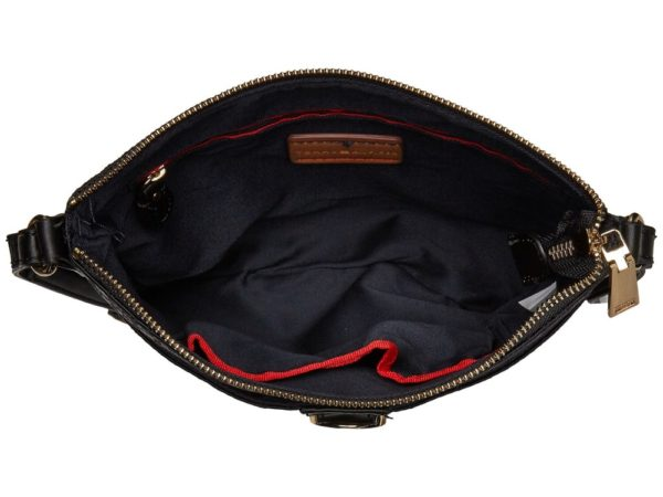 Tommy Hilfiger Evanna Large North-South Crossbody - Black Tonal5