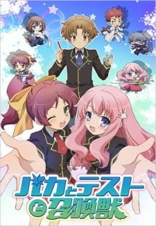 Baka to Test to Shoukanjuu Subtitle Indonesia