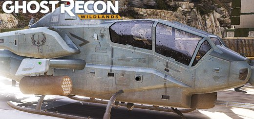 Ghost Recon: Wildlands - JACKING THE BELL AH-1Z VIPER/COBRA ATTACK HELICOPTER (Model 209)