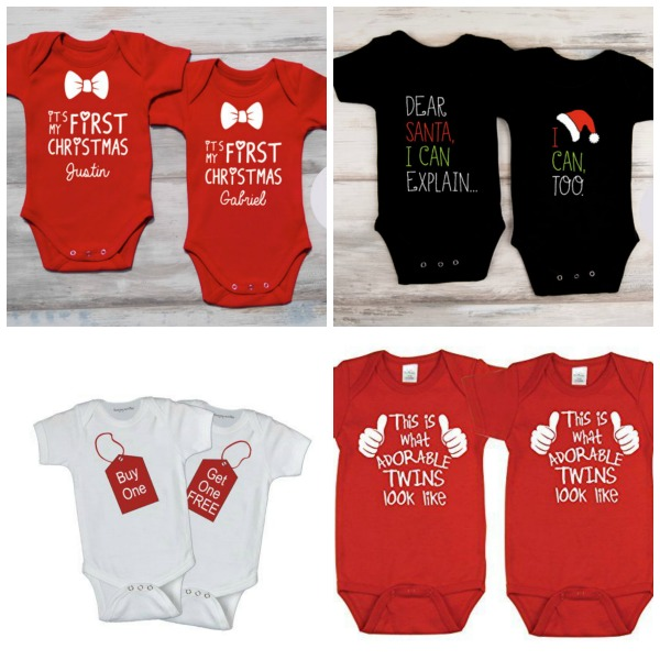 6 twins first christmas