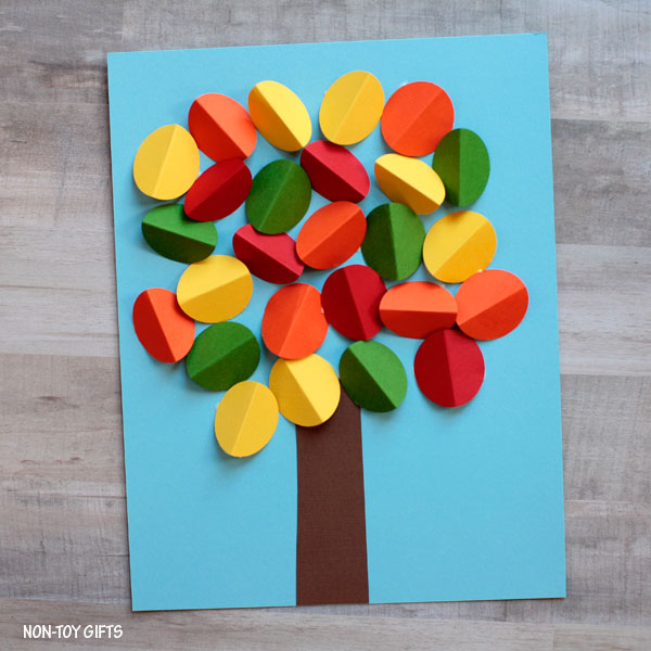 autumn tree craft easy