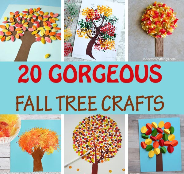 20 fall tree crafts