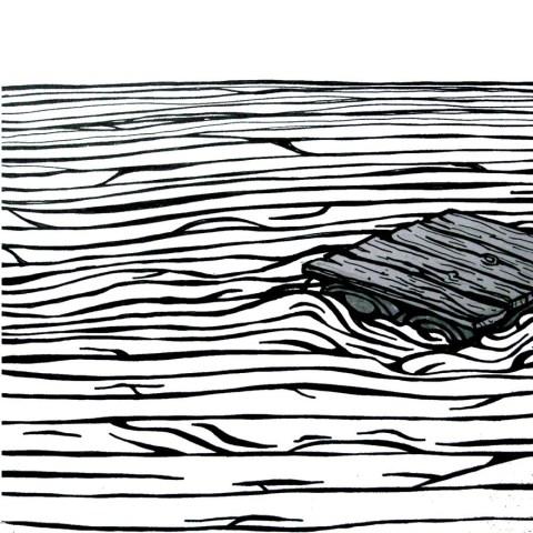 The Raft cover tweaked