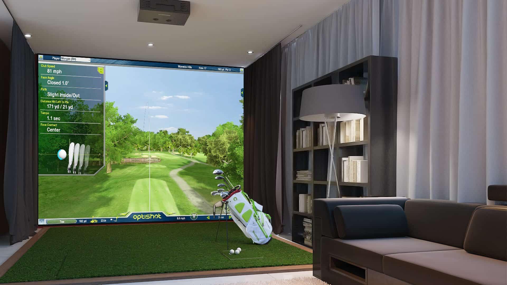 Best Golf Simulators 2020 Home Setup For Under 1k
