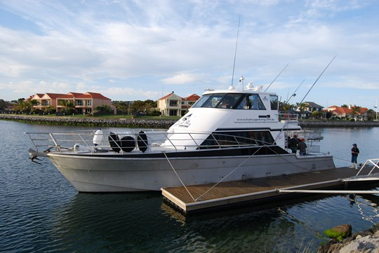 Le bateau de Calypso Star Charter