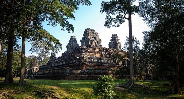photo Phnom Bakheng cambodge