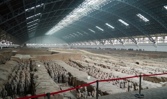 photo armee de terre cuite chine xi'an