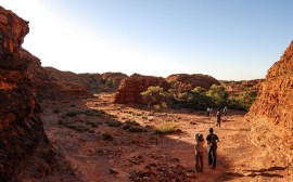 kings canyon photo australie