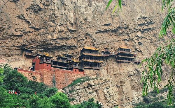 Que faire en Chine datong monastere suspendu