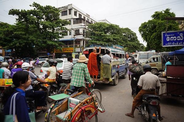 carnet de voyage Mandalay