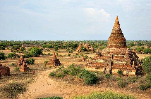 photos bagan birmanie