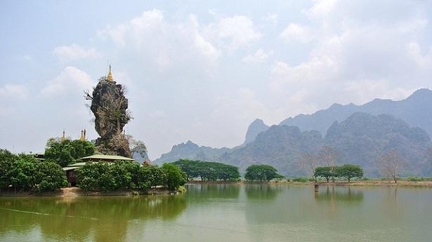 quoi visiter en birmanie