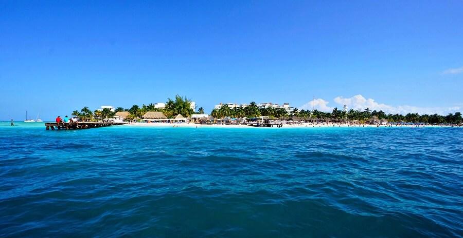 plage isla mujeres mexique
