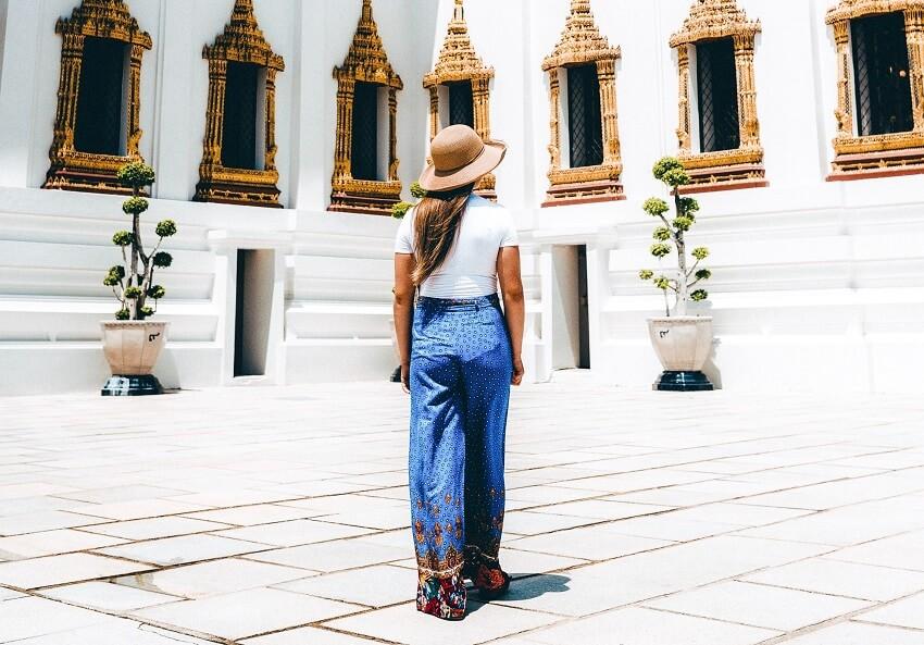 comment s'habiller pour visiter les temples en thailande