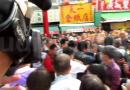 (影)蔡英文到台南發福袋 抗議不斷被迫聲東擊西走後門