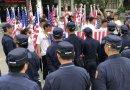 (影)「台灣政府」升旗被警阻 竟嗆聲會將記錄送往美國對分局長「鞭刑」