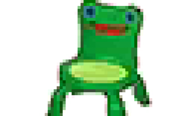 Froggy Chair Transparent Cute766