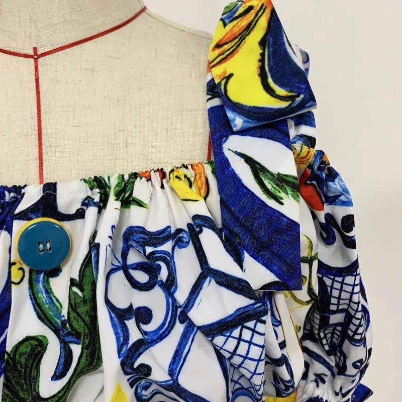 Produktfoto Detail Oberteil Sommerkleid 2-teilig