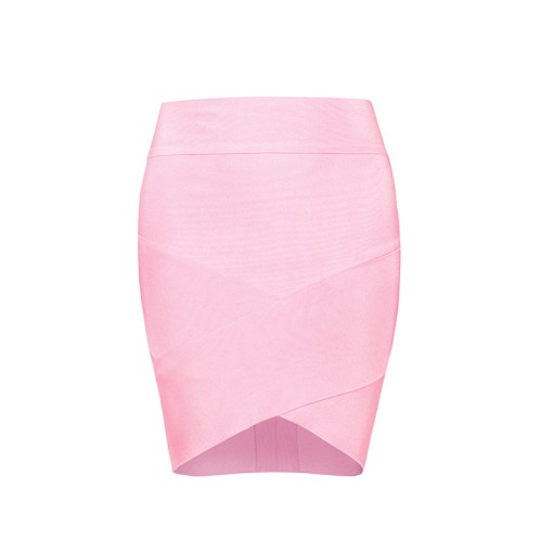Bandage Bodycon Rock Mini rosa