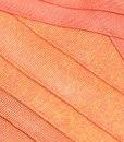 Bandage Bodycon Kleid orange ombré