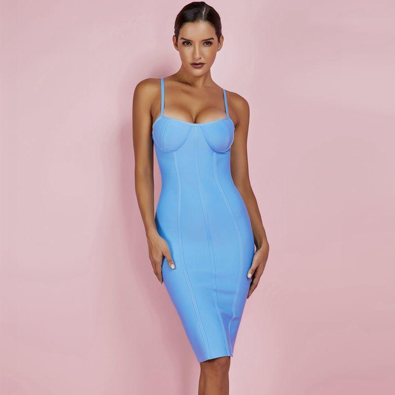Modelbild Kleid blau