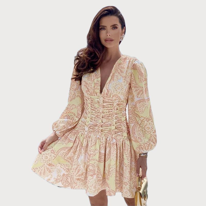 Modelbild Sommerkleid gelb