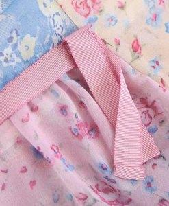 Detailaufnahme Kleid im Boho-Style