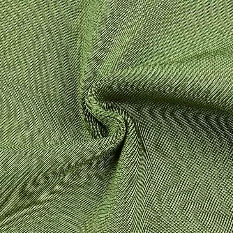 Nahaufnahme Kleid grün