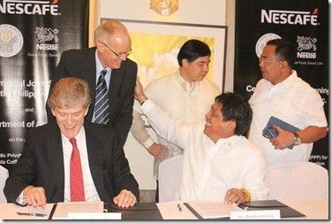 DA, Nestle seal expanded partnership to build more coffee nurseries