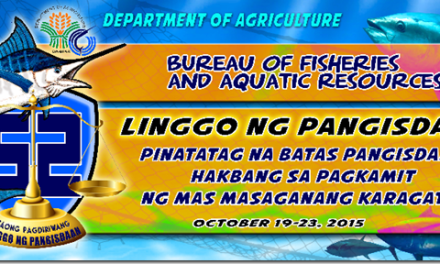 52nd Fish Conservation Week Highlights Stiffer Philippine Fisheries Code