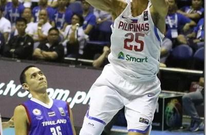 SEABA: GILAS Pilipinas VS Thailand