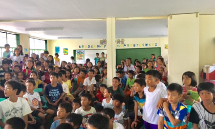 Monsanto Philippines recently brought its story-telling activity to Kilicao Elementary School in Bicol
