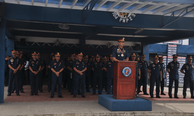 PCSUPT CORONEL ASSUMES NEW POST AT CENTRAL LUZON POLICE