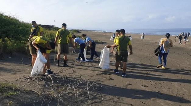 Coastal Clean Up Marks Ilocos Sur's Linggo ng Kabataan
