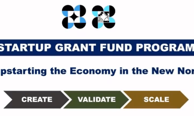 Jumpstarting the Economy in the New Normal with the Startup Grant Fund Program