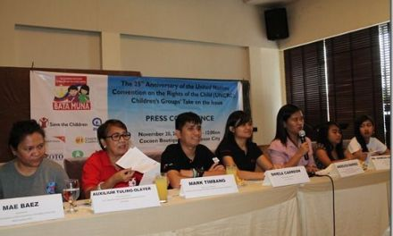 Child Rights Advocate to Aquino: Fulfill UNCRC Commitment