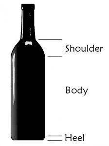 Wine Bottle Label Size : bottle, label, Average, Label, Labels, Database
