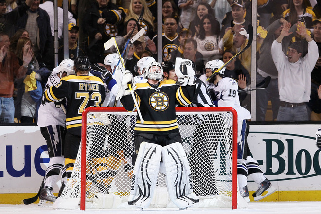 2d6d1b7a1 Tim Thomas and Boston can celebrate the Eastern Conference Finals victory!